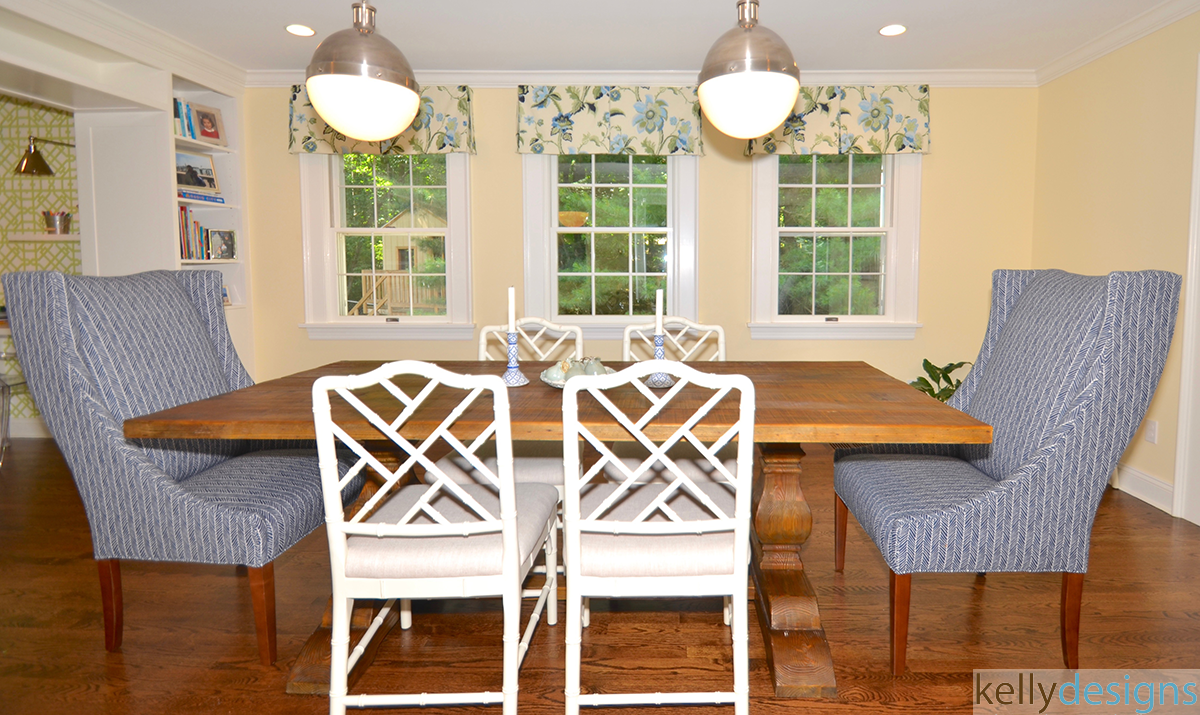 Country Dining Room - Interior Design by kellydesigns