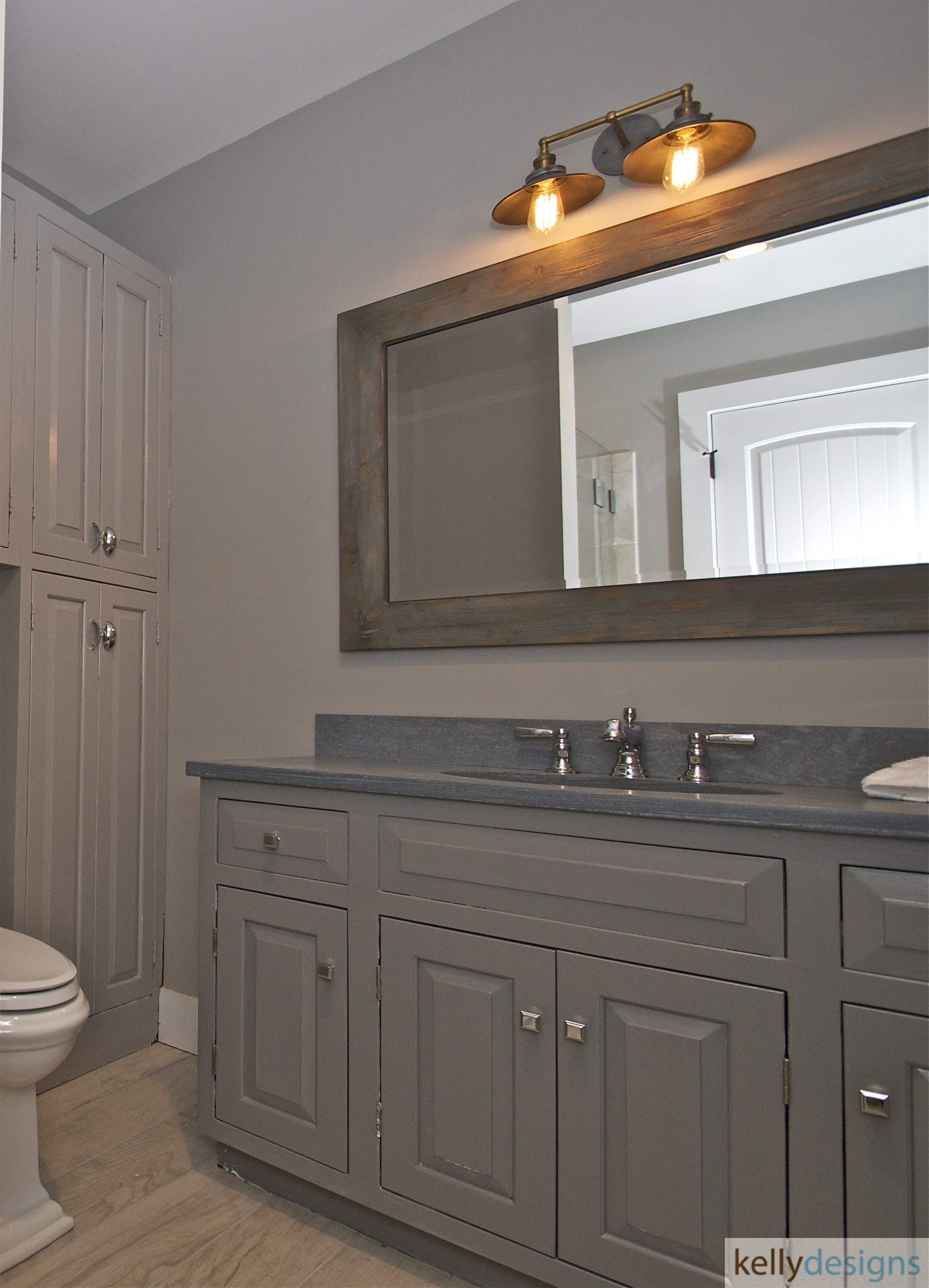 Redding Bath Remodel - Bathroom 1 - Interior Design by kellydesigns