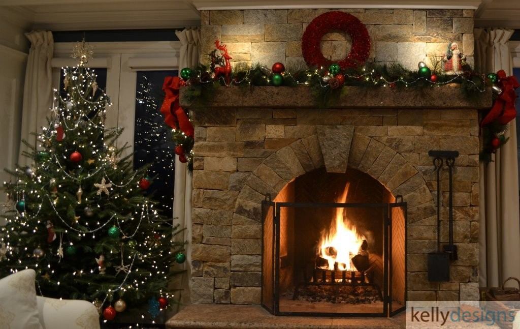 Holiday & Event Decorating By kellydesigns - Christmas Tree, Wreath And Garland