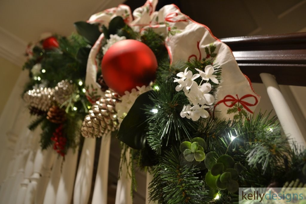 Holiday & Event Decorating By  kellydesigns - Stairway Garland