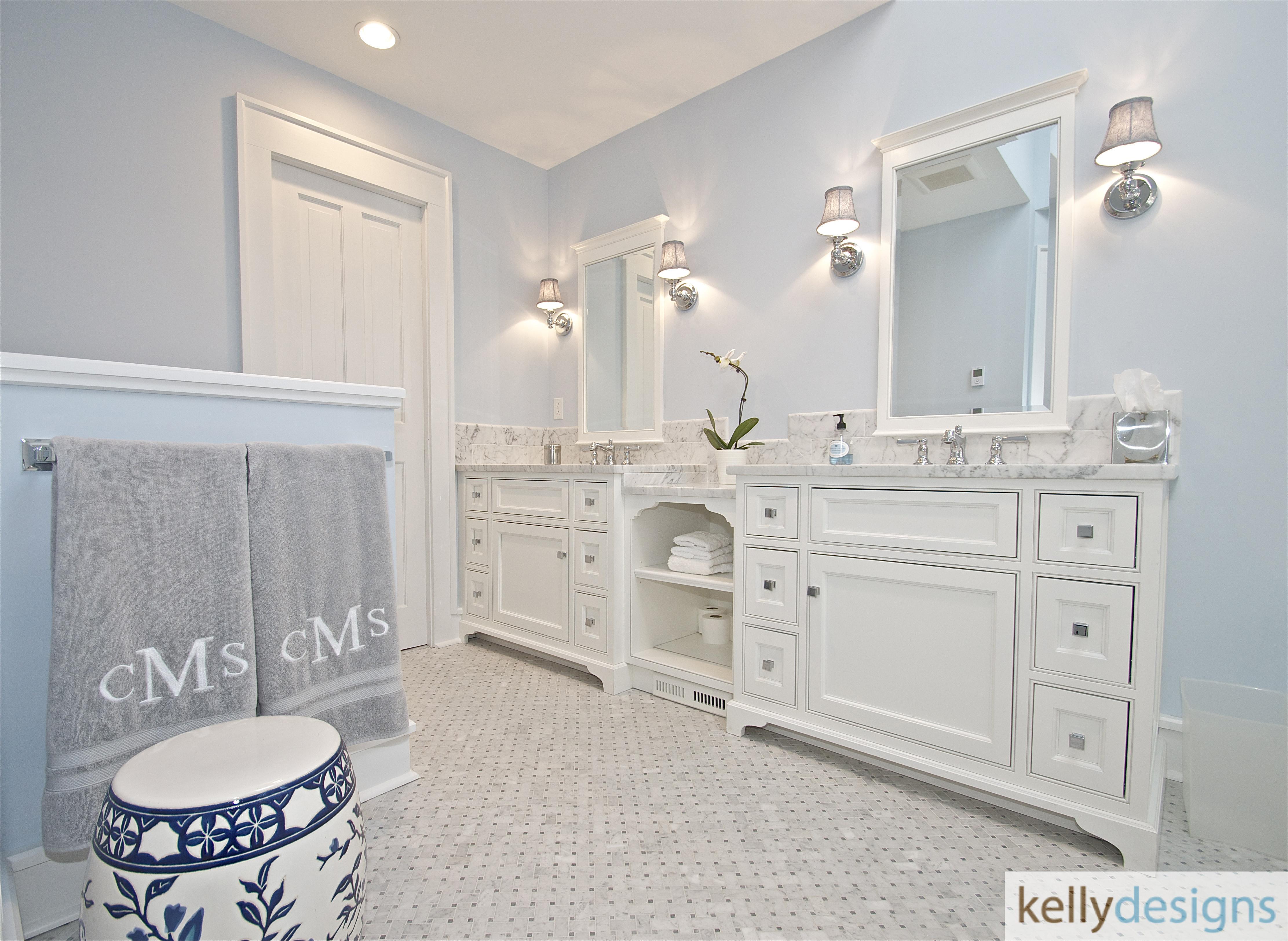 Redding Bath Remodel - Bathroom 3 - Interior Design by kellydesigns
