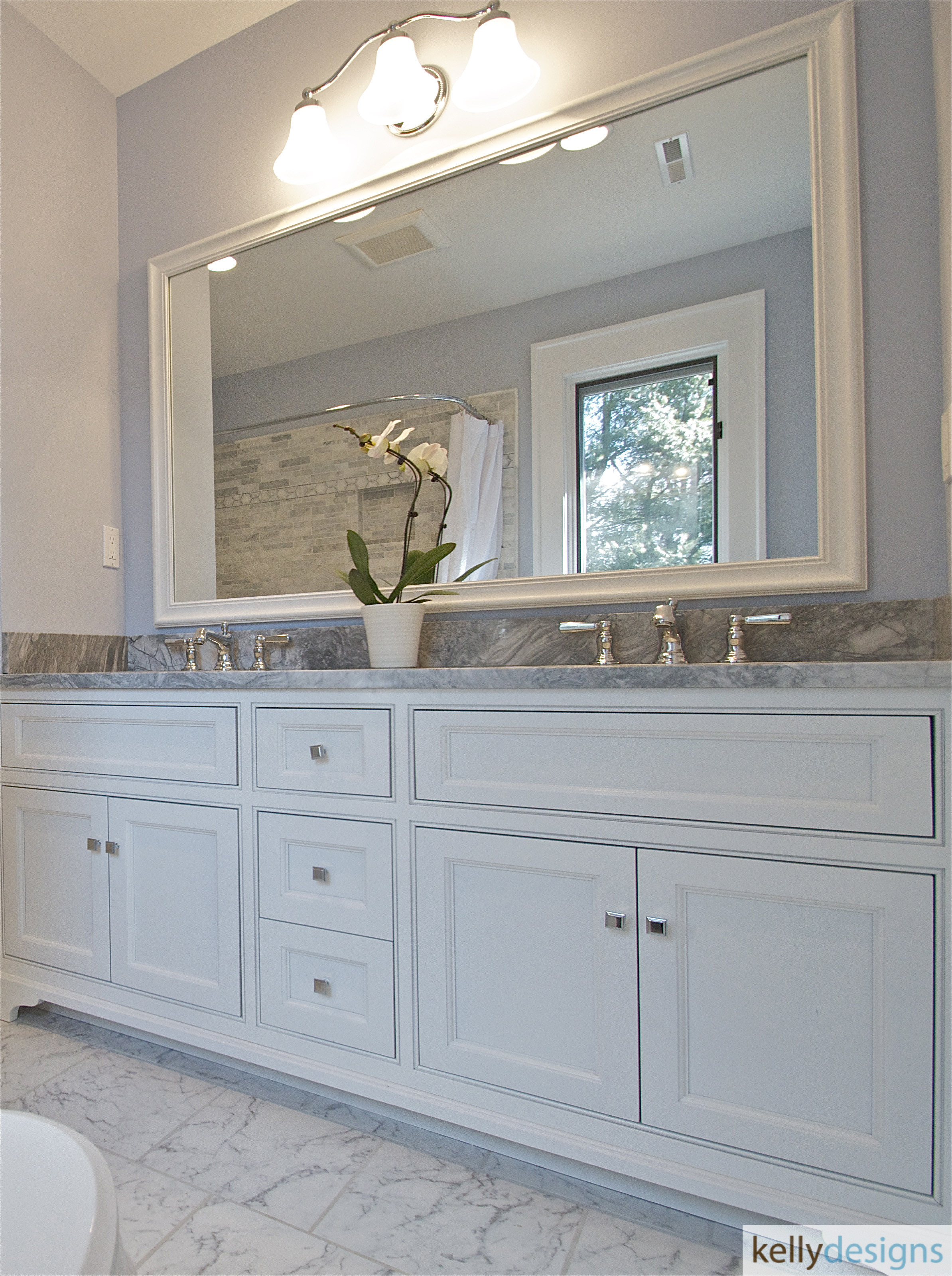 Redding Bath Remodel - Bathroom 4 - Interior Design by kellydesigns