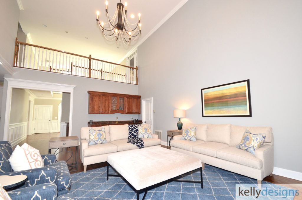 Delightful on Dudley - Family Room - Interior Design by kellydesigns