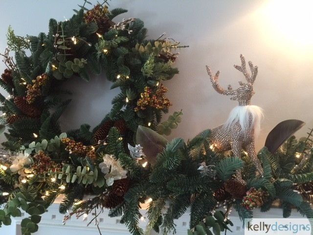 Holiday & Event Decorating By  kellydesigns -  Mantel