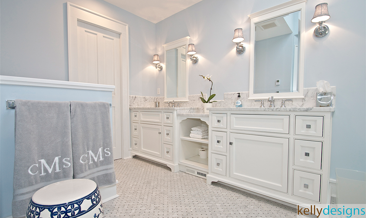 Master Bathroom - Interior Design by kellydesigns
