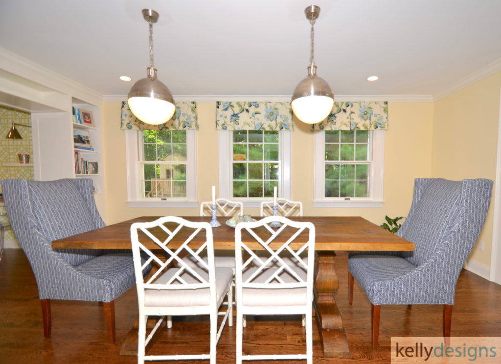Preppy with a Purpose - Kitchen Dining Room - Interior Design by kellydesigns