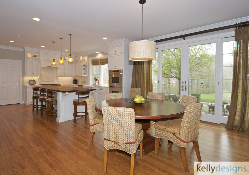 Pound Ridge Renovation - Kitchen - Interior Design by kellydesigns