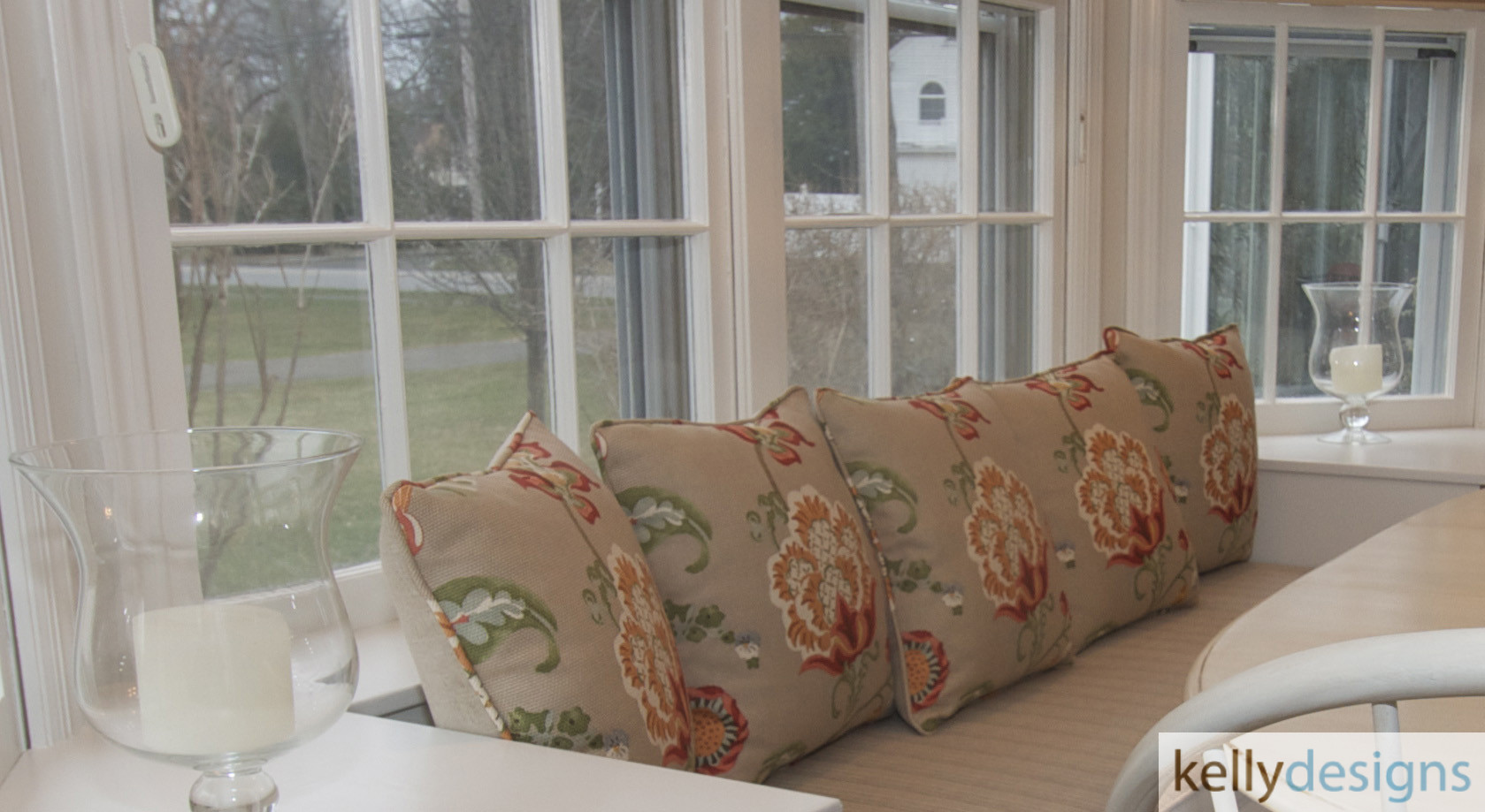 Stunning On Sturges   Window Seat    Interior Design By Kellydesigns