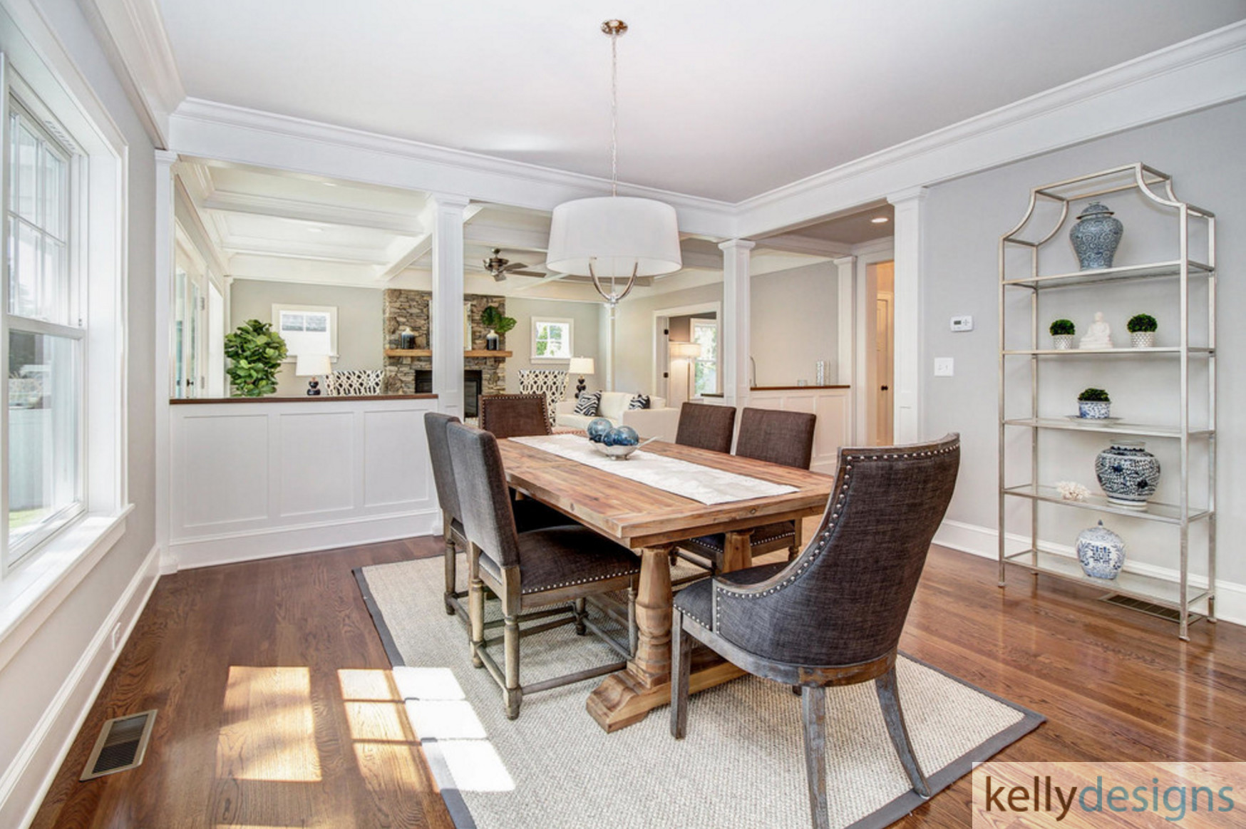 Winning On Wormwood Dining Room 2 Interior Design By Kellydesigns