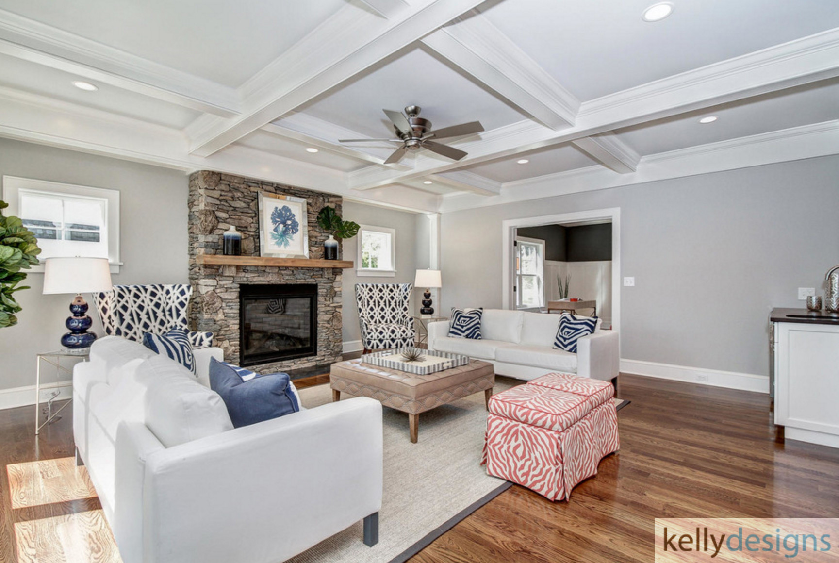 Winning On Wormwood Family Room 2 Interior Design By Kellydesigns