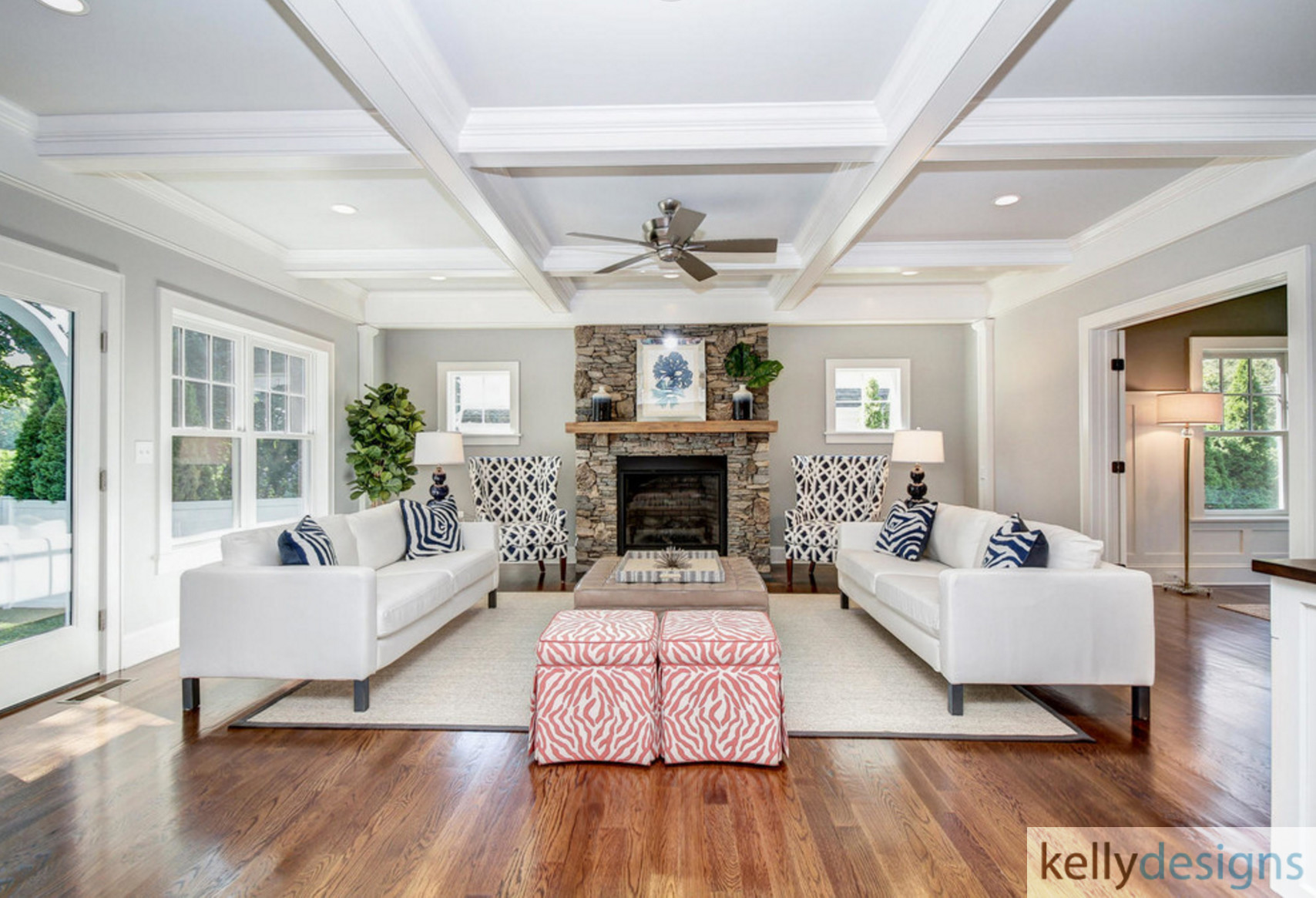 Winning On Wormwood Family Room Interior Design By Kellydesigns