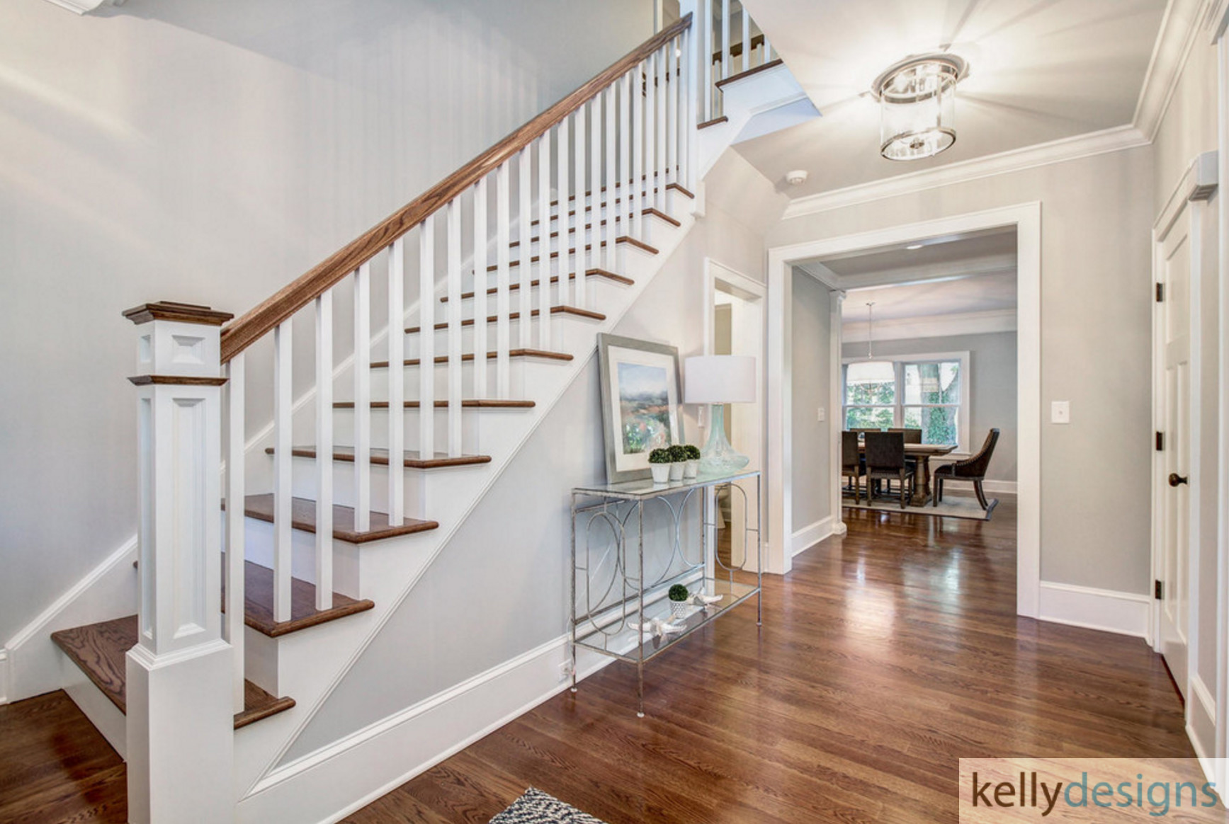 Winning On Wormwood Foyer Interior Design By Kellydesigns