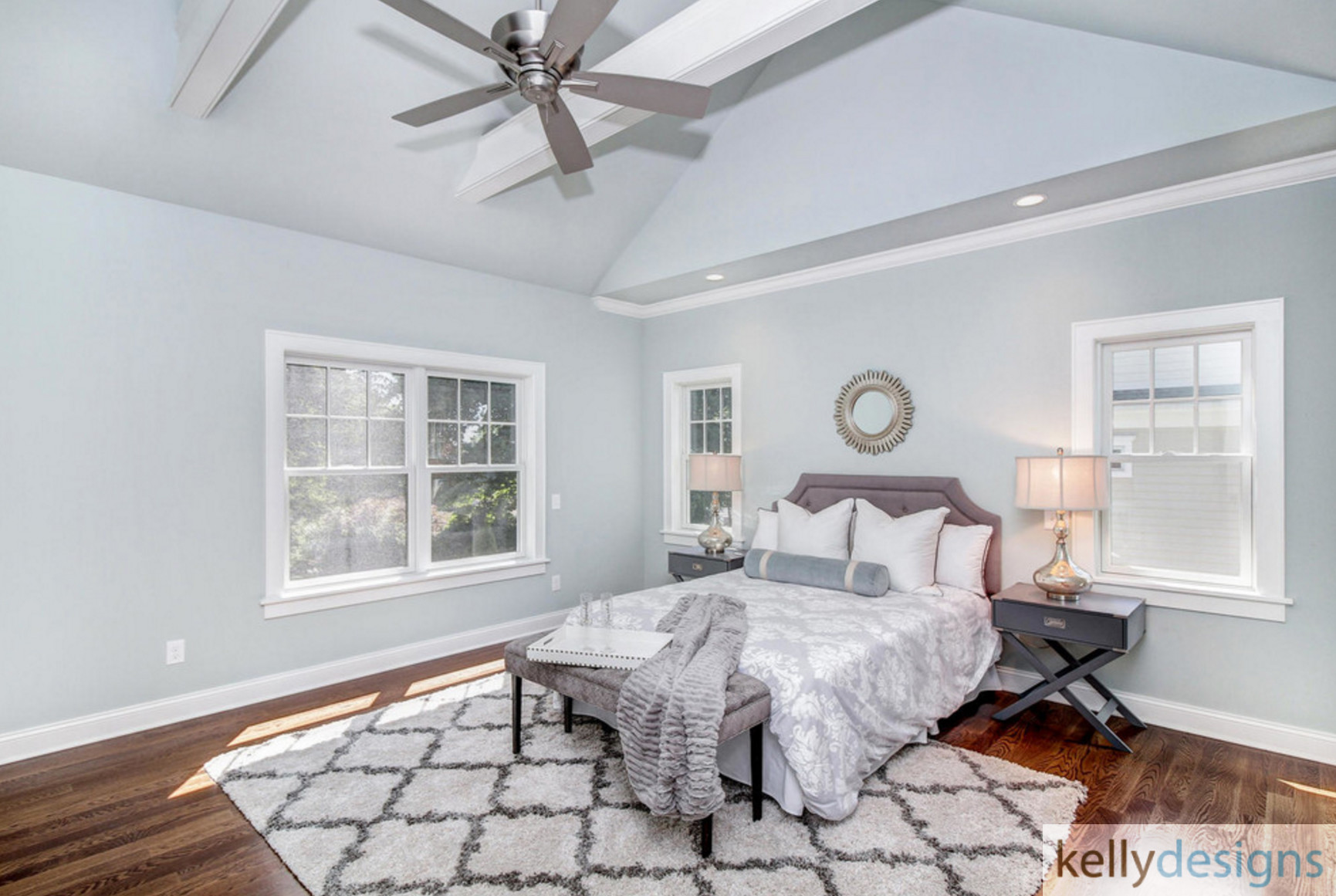 Winning On Wormwood Master Bedroom Interior Design By Kellydesigns