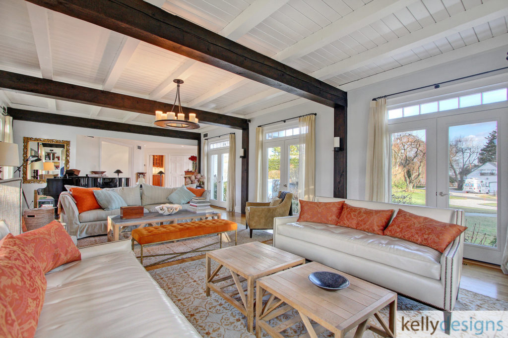 Spectacular Staging in Beachside Home - Home Staging by kellydesings