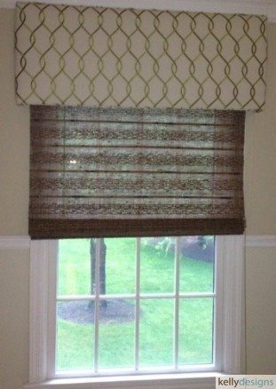 Custom Valance And Shade by kellydesigns