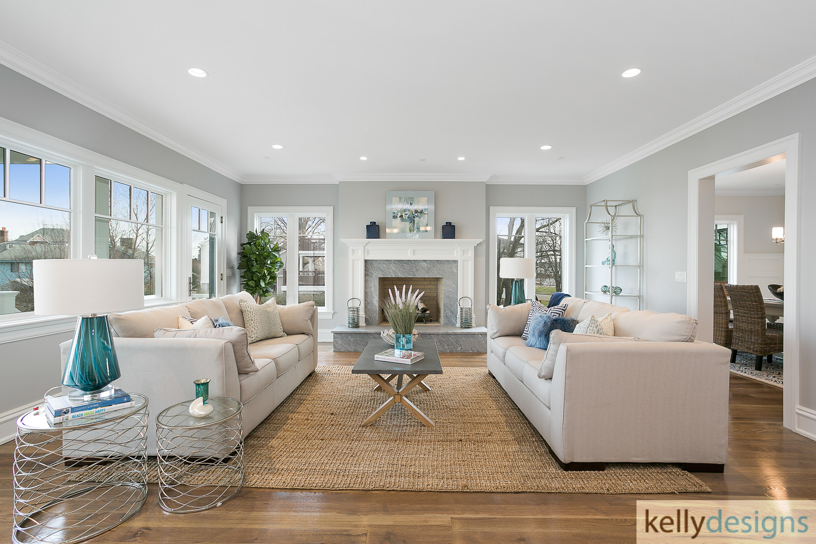 Bountiful Beach Beauty - Home Staging by kellydesigns, LLC