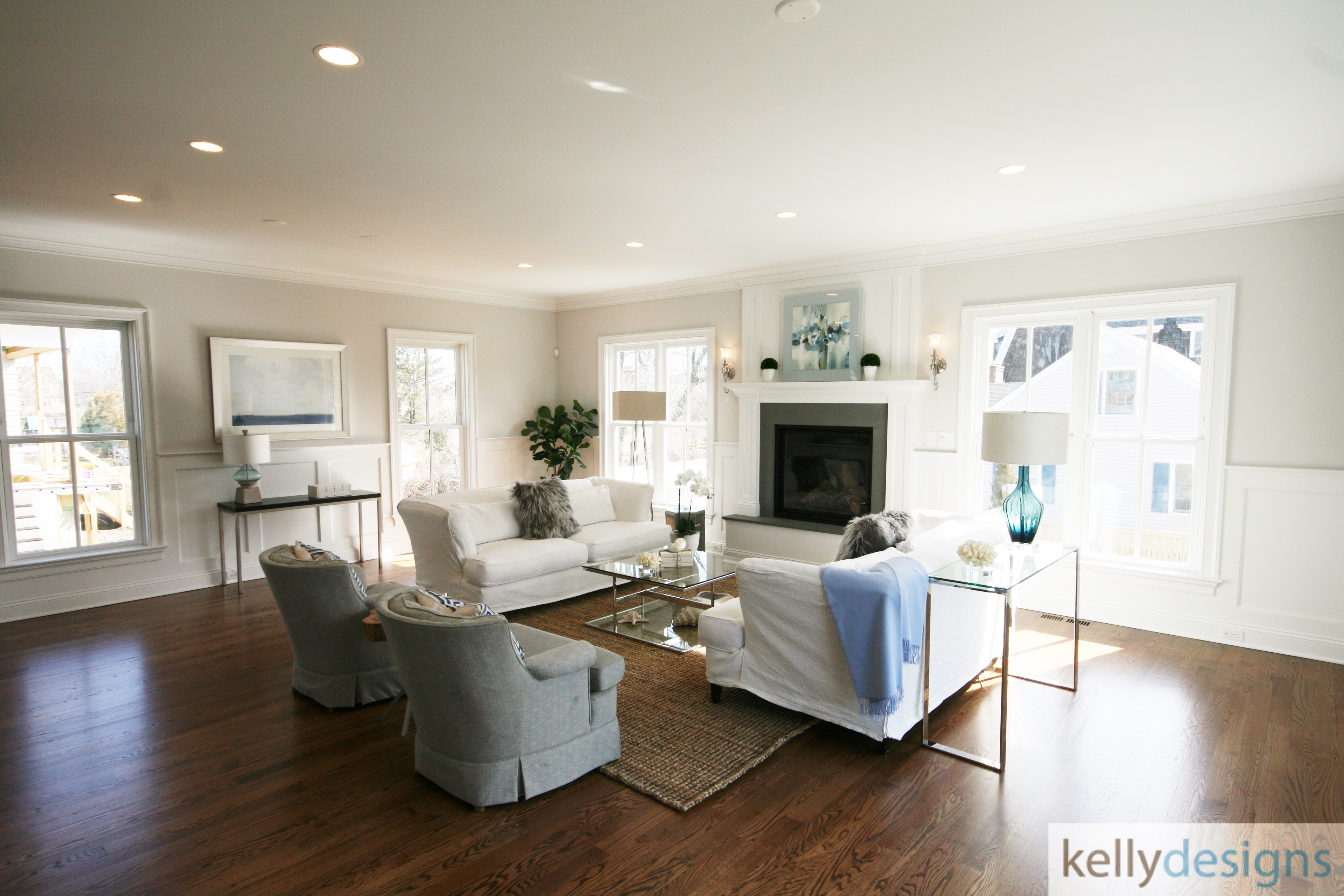 Rockin It On Rowland Staging   Great Room   Home Staging By Kellydesigns