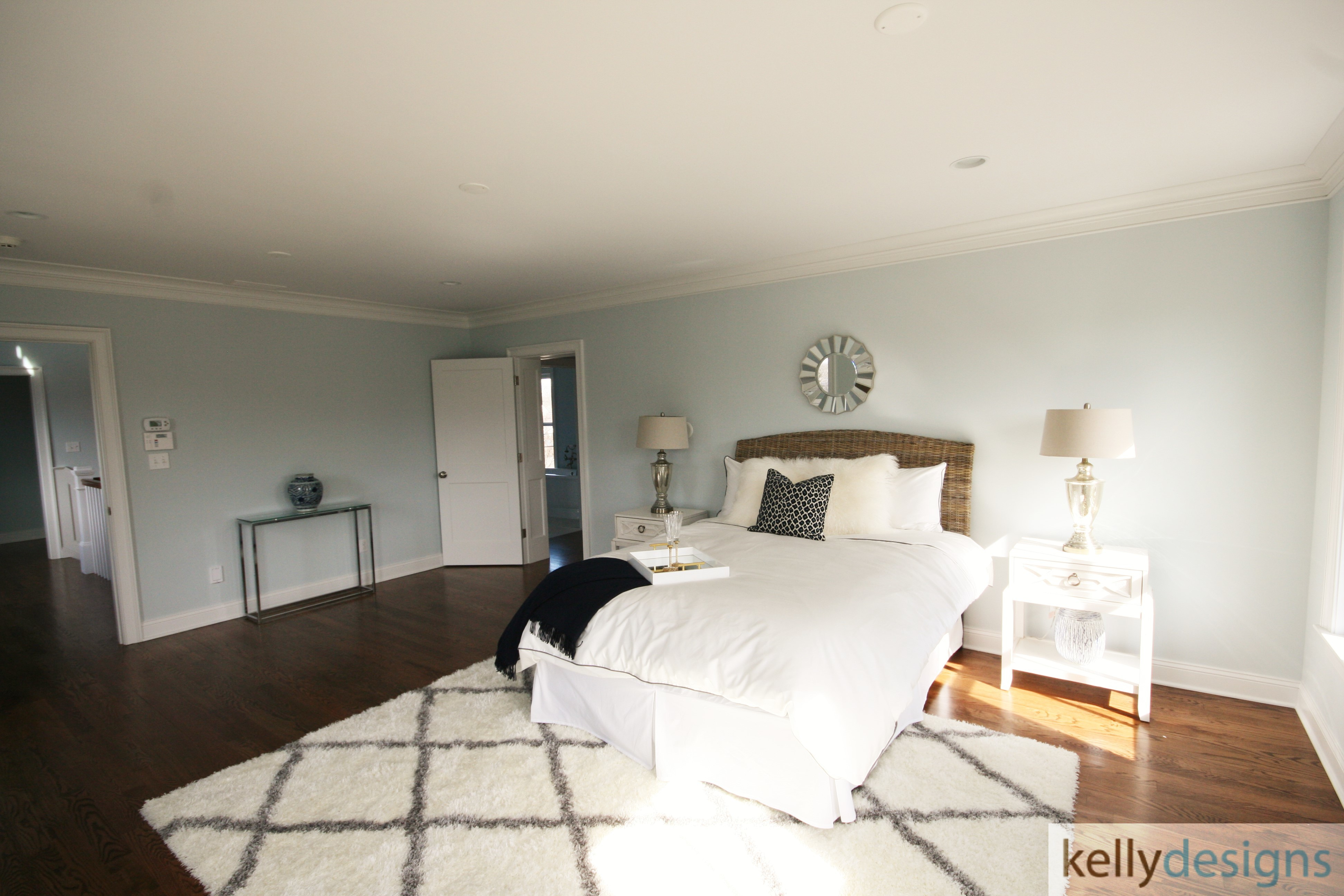 Rockin It On Rowland Staging   Master Bedroom   Home Staging By Kellydesigns