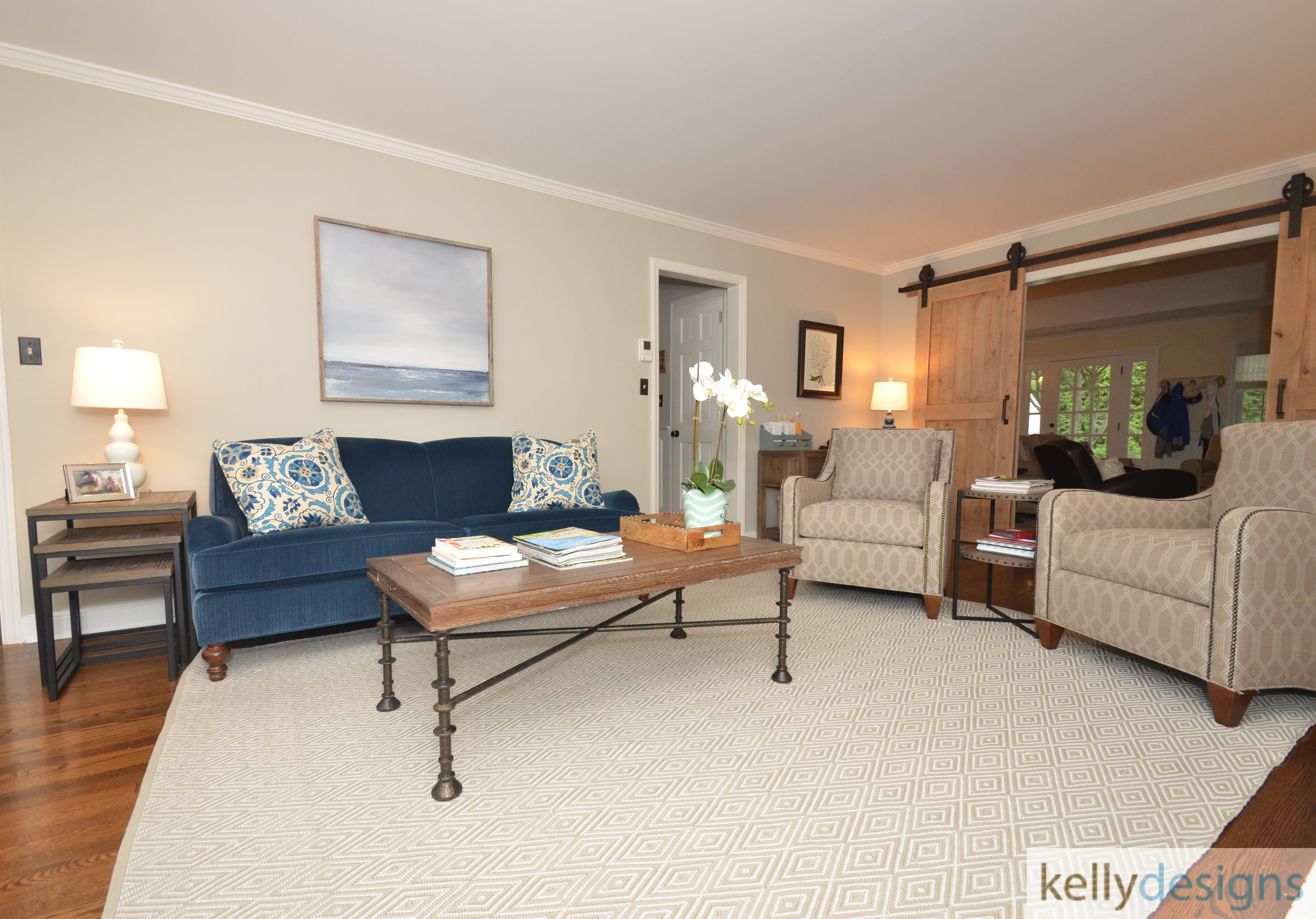 Simply Styled on Somerset - Living Room - Interior Design By kellydesigns