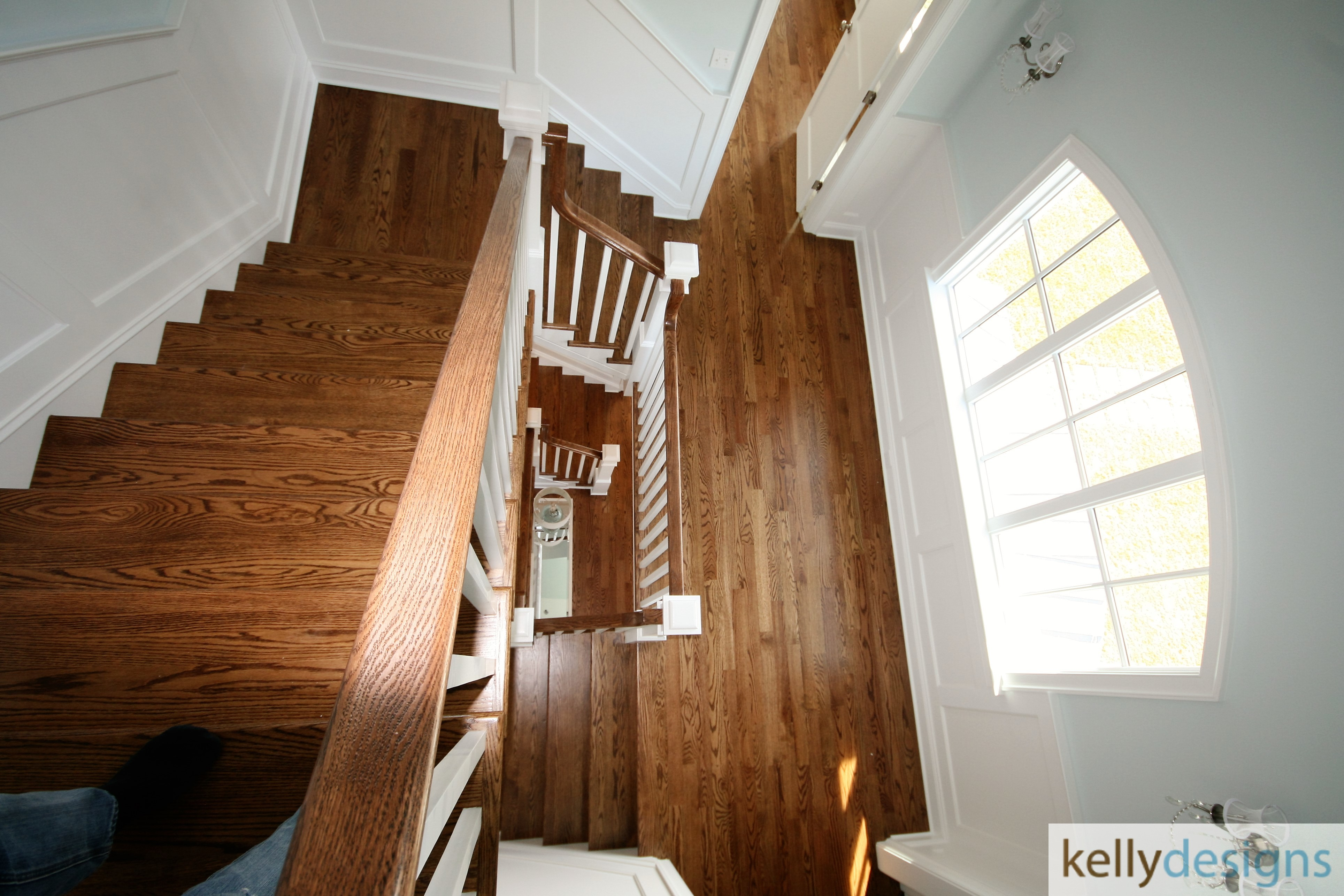 Rockin It On Rowland Staging   Staircase   Home Staging By Kellydesigns