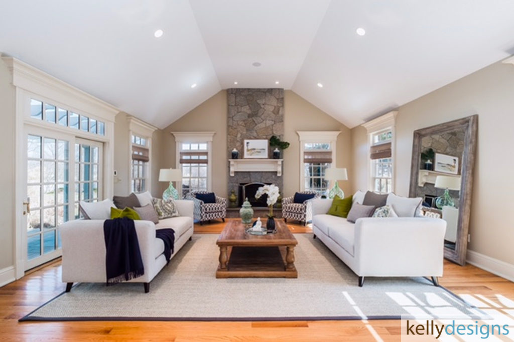 Thrill on Mill Hill - Home Staging By kellydesigns