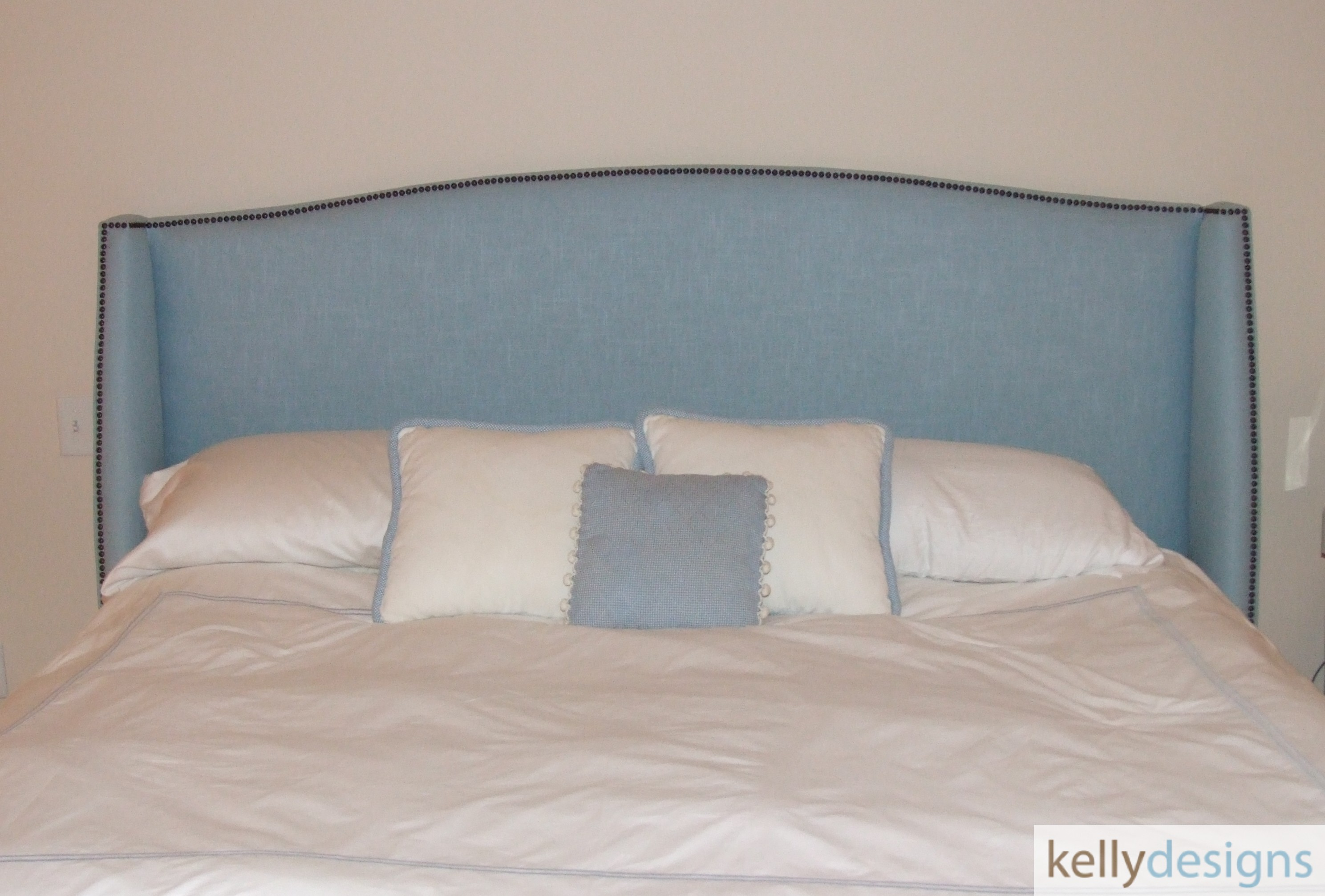 Custom Headboard By Kellydesigns