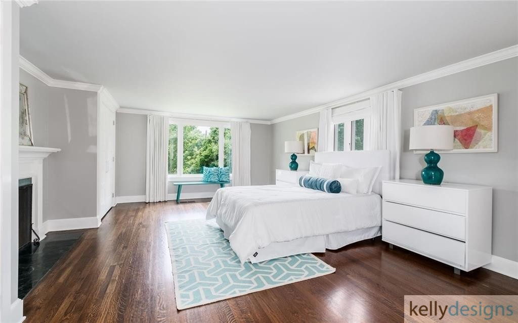 READY On Redding - Master Bedroom - Home Staging by kellydesigns