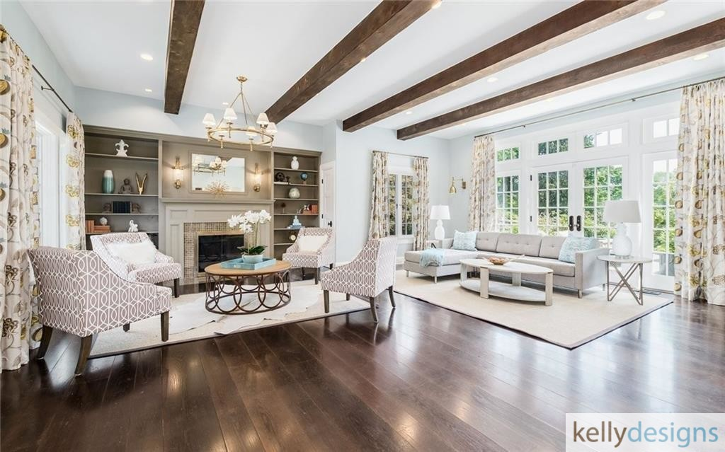 READY On Redding - Family Room - Home Staging by kellydesigns