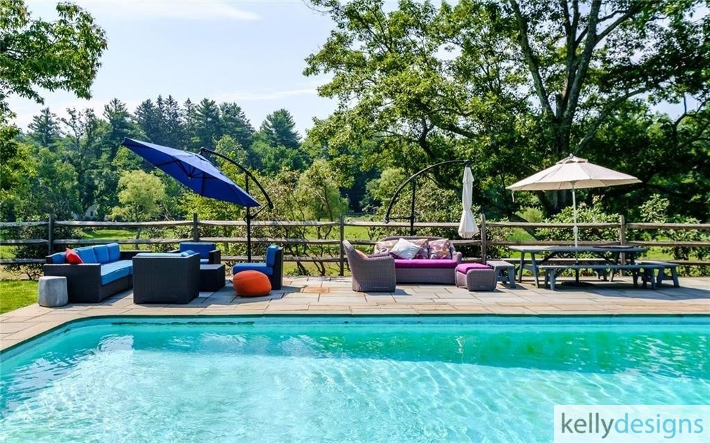 READY On Redding -  Swimming Pool - Home Staging by kellydesigns