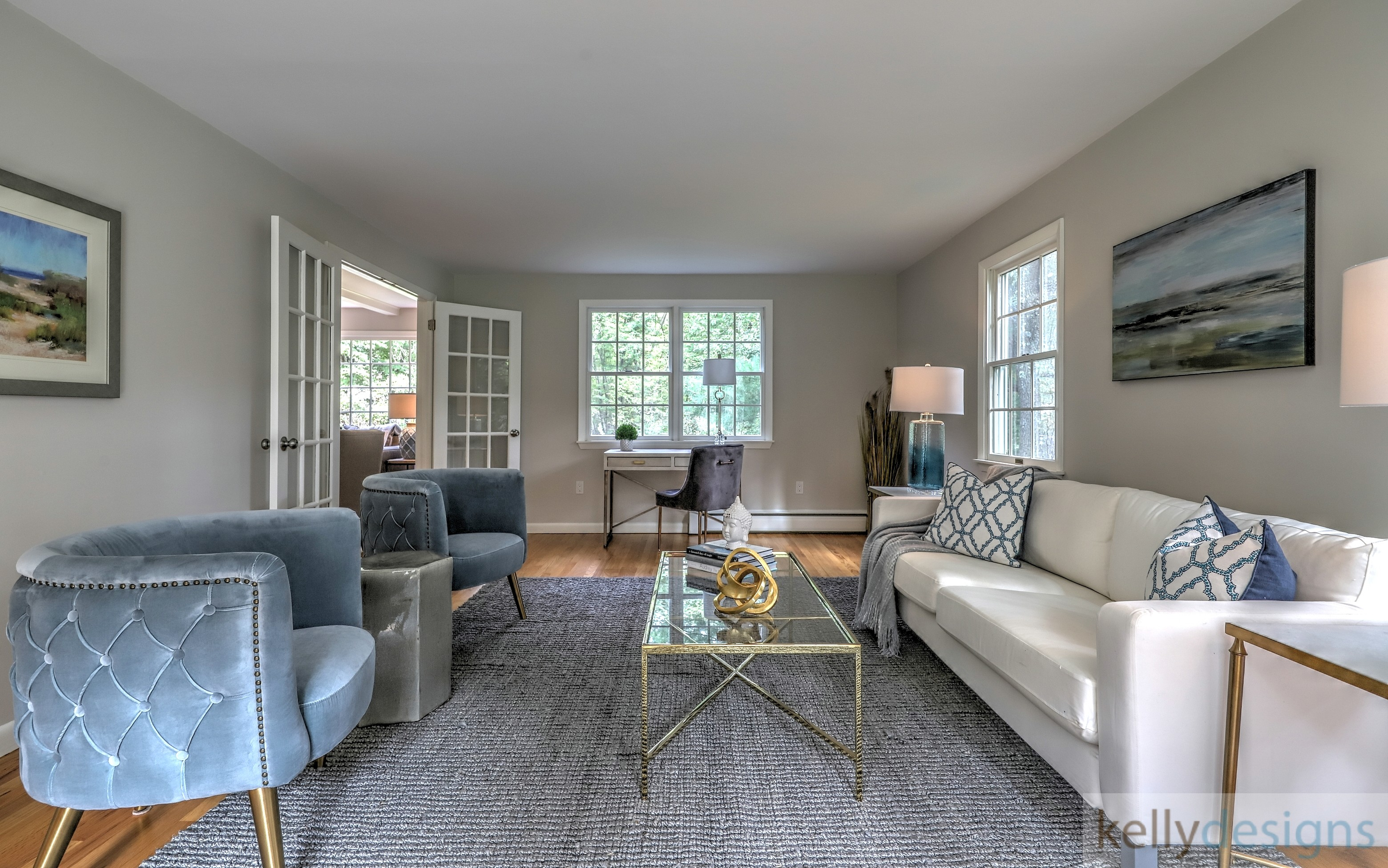 Staging Mountain Laurel Retreat