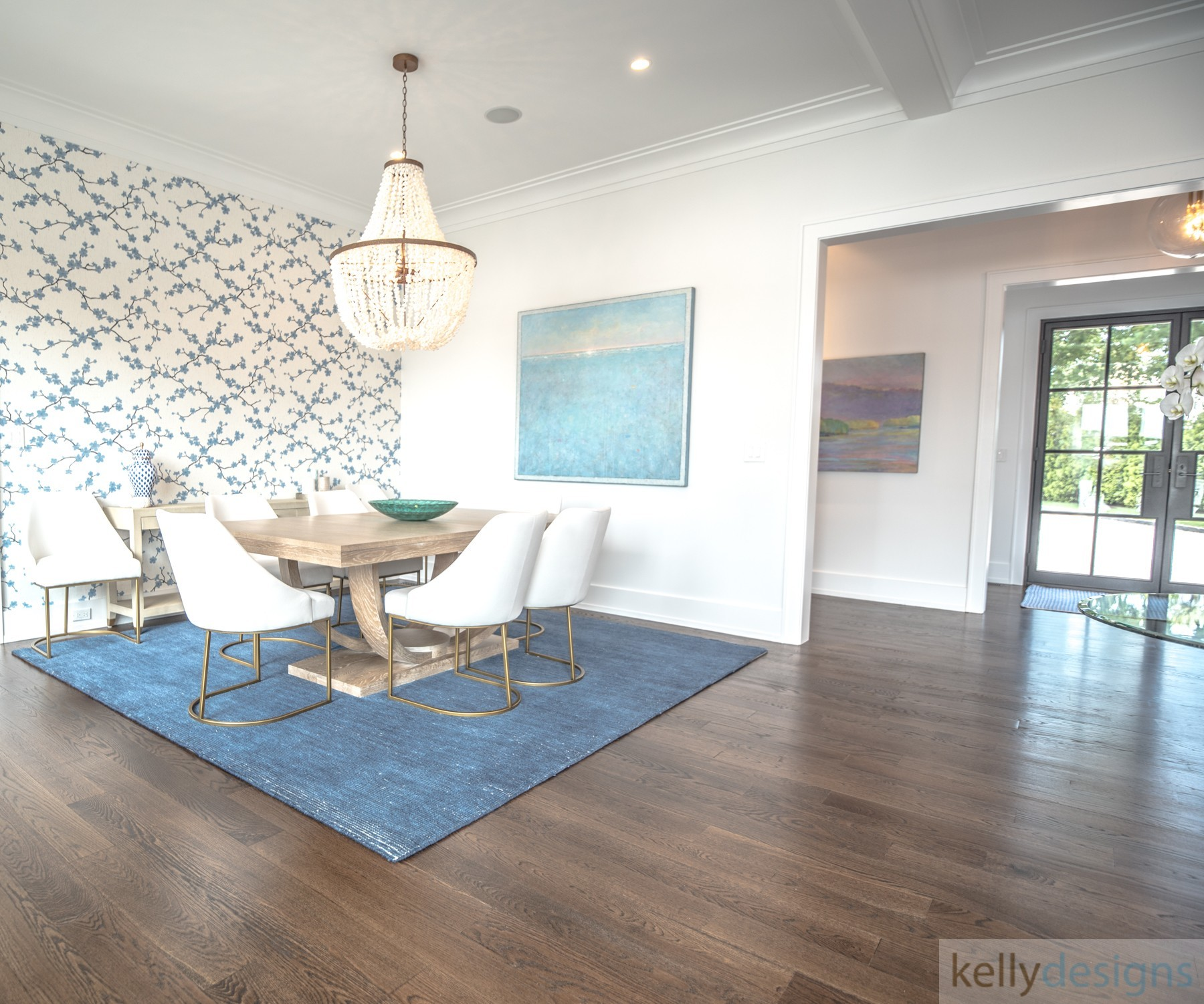Brush Island Dining Room   Interior Design By Kellydesigns