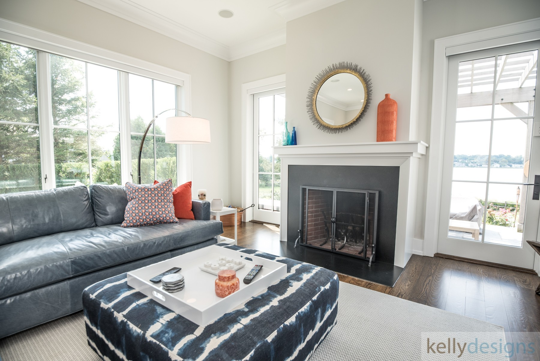 Brush Island Family Room   Interior Design By Kellydesigns