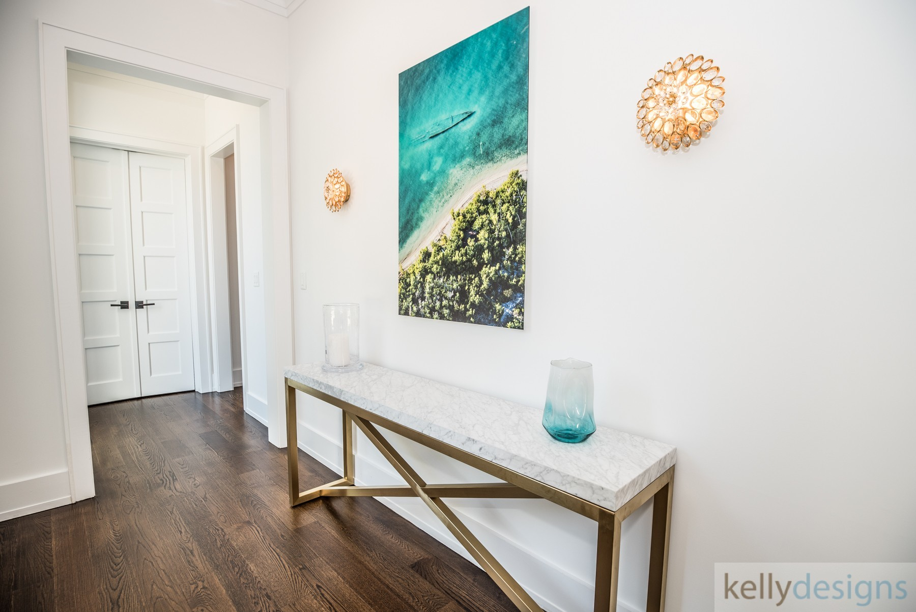 Brush Island Entry   Interior Design By Kellydesigns