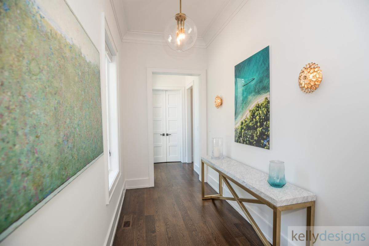 Hallway Lighting from kellydesigns design project