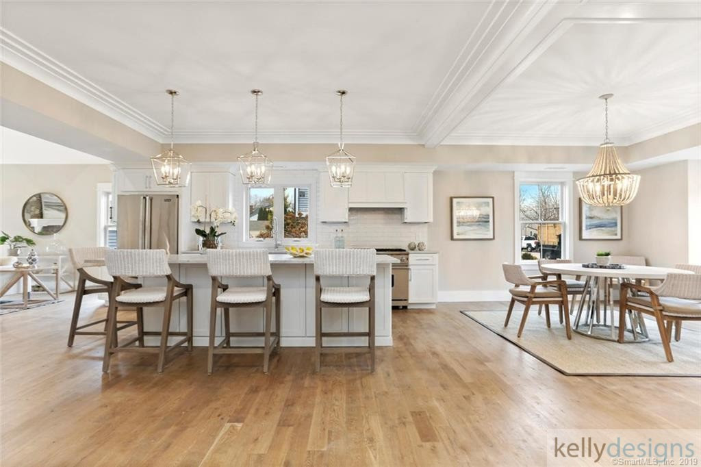 Kitchen Lighting from kellydesigns staging project